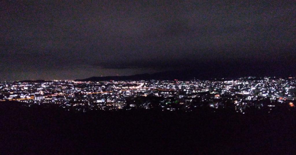 伏見稲荷からの夜景