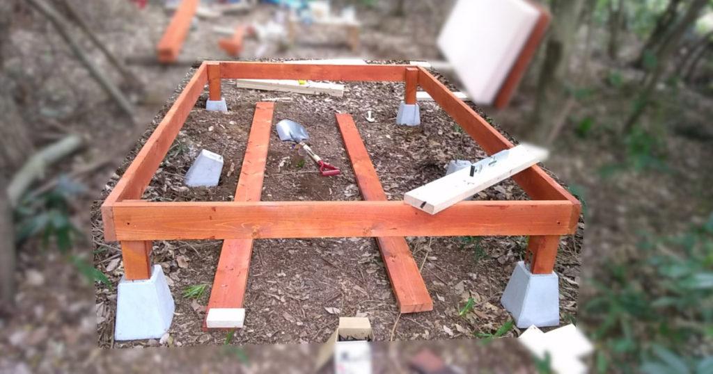 束柱と外枠の接合