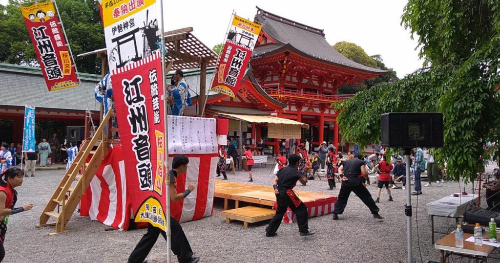 近江神宮盆踊り