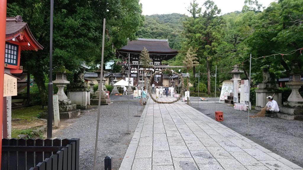 松尾大社茅の輪