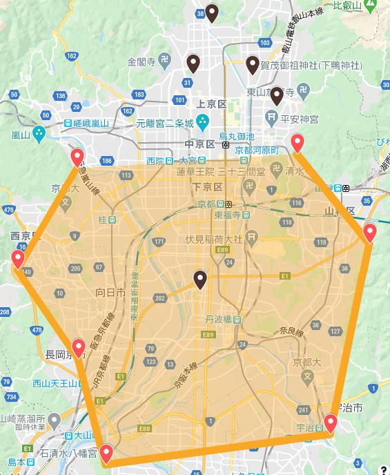 京都の結界7月