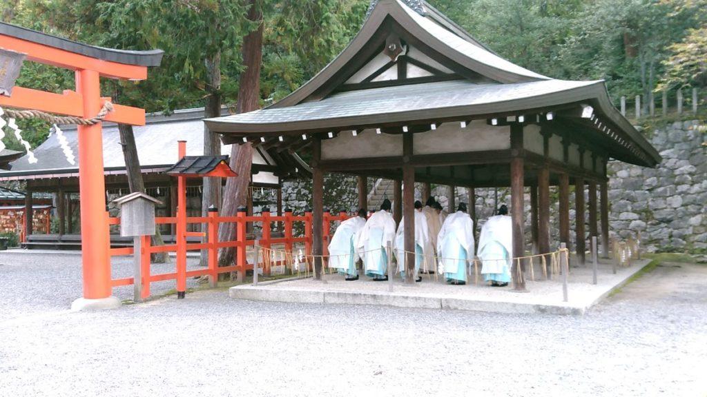 吉田神社月次祭